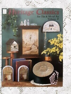 Heritage Classics For Tin & Metal Art Vol. 2 By Jane Crick Tole Painting 1994.