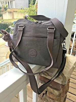 NWT KIPLING Felicity Handbag Crossbody Purse (#HB7469) - new bran