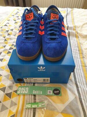 Adidas Dublin OG UK10 size? Exclusive originals BNIBWT City series + Badge