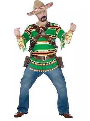 Tequila Dude Halloween Costume (Brand New Fiesta Tequila Pop 'N' Dude Adult Halloween)
