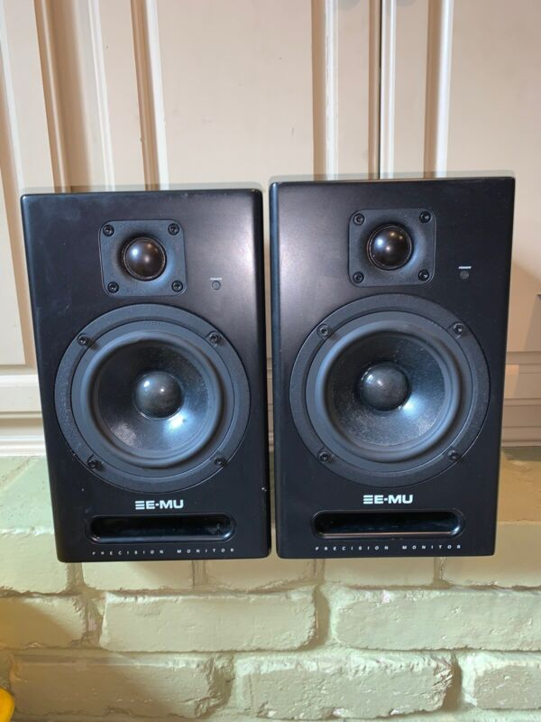 Creative Sound BookShelf E- MU Speakers (2)
