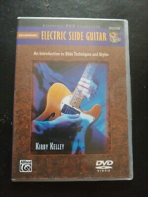 Beginning Electric Slide Guitar - By Kirby Kelley 00-21915 DVD Beginning Electric Guitar Dvd