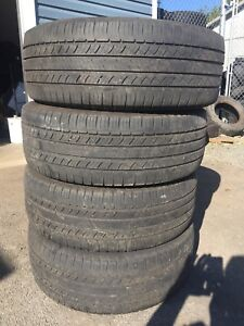 Michelin Latitude P245/60R18 tires