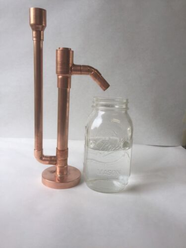 $36.00 - Proofing Parrot Pure Copper for Moonshine e85 Distilling Alcohol DIY Kit 3/4