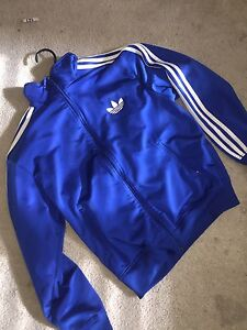 Blue Adidas TrackSuit Top