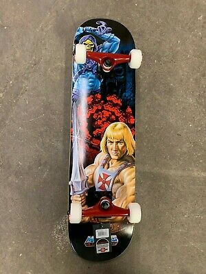 Element x He-Man Masters of the Universe Skeletor Complete Skateboard 7.7""