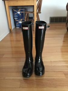 Women's Hunter Boots- Black size 8