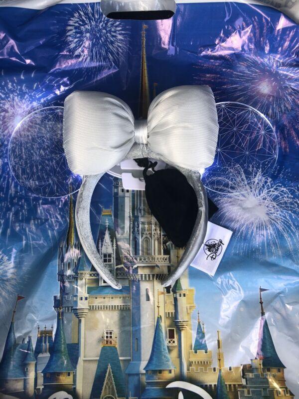 Disney Parks 2021 Epcot Spaceship Earth Light Collection Minnie Ear Headband NEW