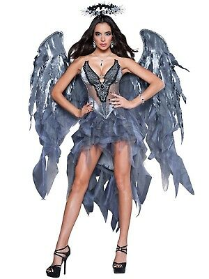 Dark Angels Desire Womens Halloween Costume Sexy Size M Medium In Character - Angel Costumes For Womens