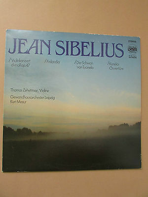 Jean Sibelius - Thomas Zehetmair Gewandhausorchester Masur LP ETERNA 729151 (10)