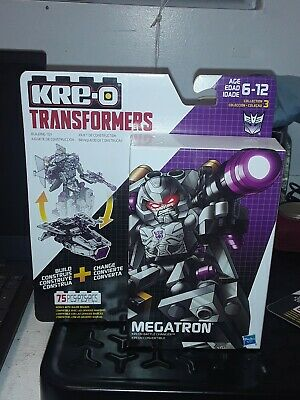 KRE-O Transformers Battle Changers MEGATRON 75 Piece Building Kit New Sealed