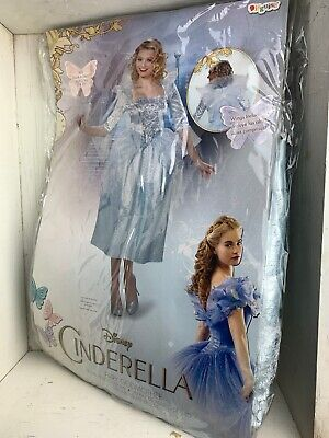 Disney Fairy Godmother Costume (Disney Cinderella Fairy Godmother Deluxe Adult Womens Costume Size XL)
