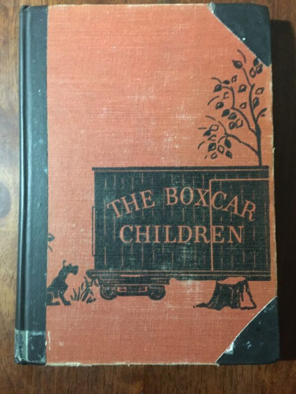 Vintage The BoxCar Children Book By Gertrude Chandler 1950 Hardcover - ExLib