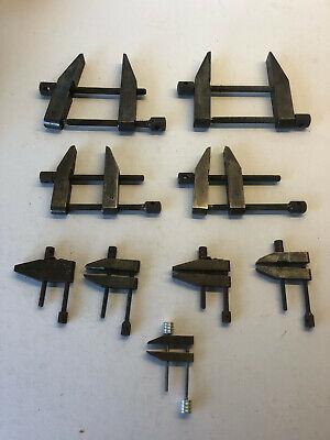 Machinist Parallel Clamp Set Starrett 9 Pieces