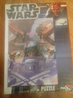 Noris Star Wars 1000 Piece Jigsaw Puzzle.