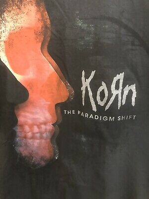 RARE Vintage Korn The Paradigm Shift XL T-Shirt Promo Concert Tour