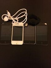 3x Broken iphone 4s 1X ipod touch 14X belkin chargers Scoresby Knox Area Preview