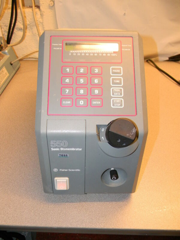 Fisher Scientific Sonic Dismembrator F550 without Horn