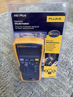 New Fluke 110 Plus True Rms Digital Meter 600-volt Multimeter Test Meter