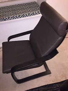 IKEA POÄNG Arm chair sells for $200 @ IKEA, brown, dark brown