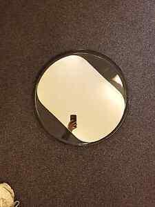 Mirror in round frame Hobart CBD Hobart City Preview