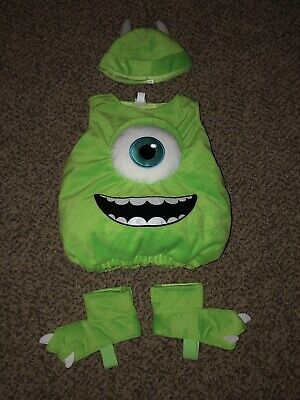 Monster Inc Infant Halloween Costume (Infant Disney Monsters Inc Mike Wazowski Plush Halloween Costume 3-6 Months)