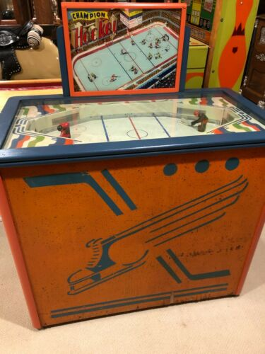 Hockey Arcade Game - champion