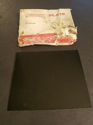 New Vintage Welding Filter Plate Lens 5-14 X 4-12 By Fibre-metal Monarch