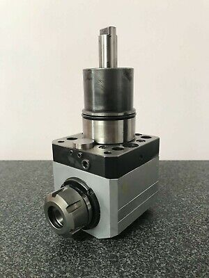 Alberti Kz-1513 90 Right Angle Rotary Tool For Nakamura Tome Cnc Lathe