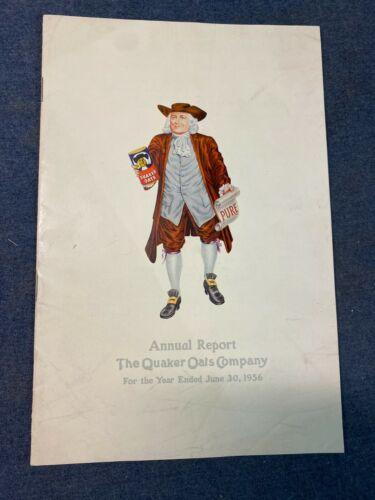 Quaker Oats Company Annual Report 1956