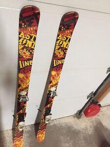 Ski twin tip