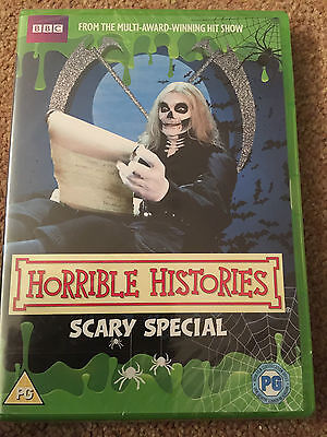 Horrible Histories - Scary Halloween Special DVD  PG  NEW & SEALED - Horrible Histories Halloween Special