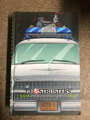 Ghostbusters International Rip Deluxe Hardcover HC Oversized IDW remaindered VF+
