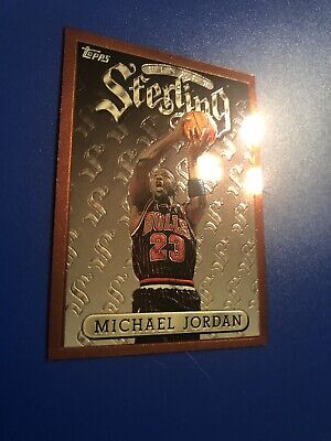Michael Jordan Topps Finest Sterling!