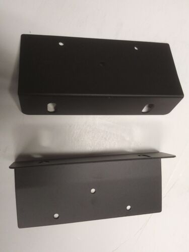 Universal Rack Mount Ears Brackets for 4 3/4 inch high 17 inch components