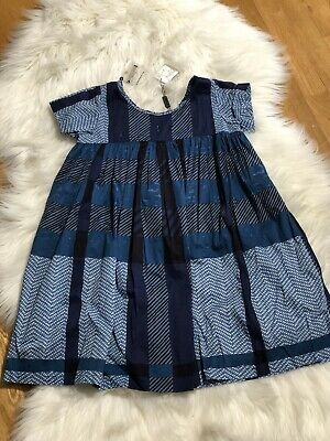 NWT $250 Burberry Children Check Dress Size 10Y