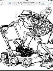 REN On site lawnmower / lawn mower tune up service & repair