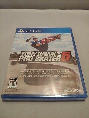 Tony Hawk's Pro Skater 5 (Sony PlayStation 4 PS4) - Factory New - Fast Shipping