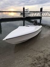 21ft millennium speed speed boat Haines hunter 2100so hull Hope Island Gold Coast North Preview