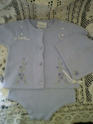 NWT 3 pc Little Me infant girls lavender outfit,9 mos, 100% cotton, perfect gift