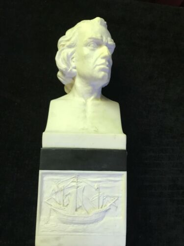 Knights of Columbus - Columbus Statue Book End
