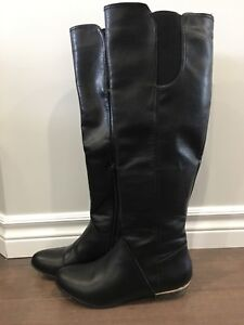 Fall knee high boots.