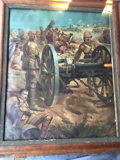 This is a print of a war (Boer War )                           ) Moonee Ponds Moonee Valley Preview