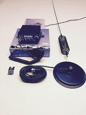 """CB Radio AM/FM Starter Kit Team TS-6M + Springer CB Antenna & 7 """" Mag Mount"""