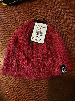Rose Beanie Hat - New Chaos Modele Rose Beanie Hat  Women