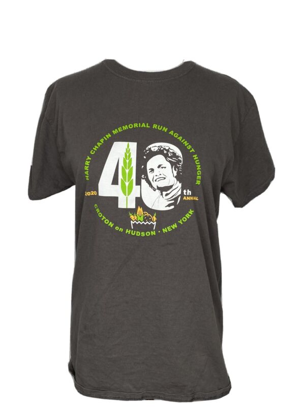 HARRY CHAPIN Memorial Run to End Hunger T-shirt, Croton On Hudson, NY Size M