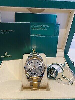 Rolex Datejust 41 126303 18k gold & steel Wimbledon dial 2021