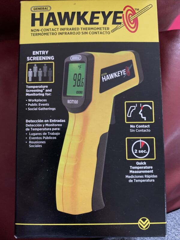 General Hawkeye Non-contact Infrared Thermometer