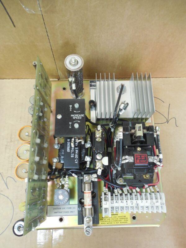 Allen Bradley Regulated Speed Drive 1312-AOD60013 Ser A 3/4 HP 120 VAC 1PH 70A