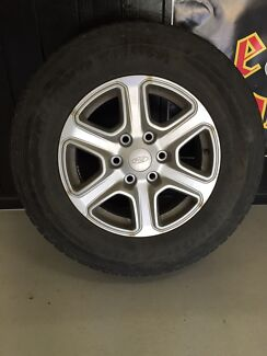 4 x Ford Ranger Alloy Rims with Tyres Atherton Tablelands Preview